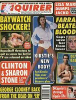 MICHAEL JACKSON-NATIONAL ENQUIRER MAG February 17th 1998-George Clooney