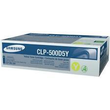 Original Samsung Tóner clp-500d5y amarillo amarillo para CLP 500 550 a-artículo