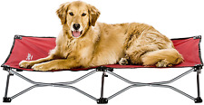 New listing Carlson Pet Products Carlson Elevated Dog Bed, Indoor or Outdoor Dog Bed for Red