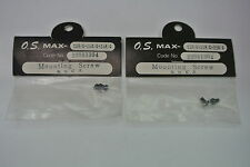 (Qty 2) CARBURETOR MOUNTING SCREWS FOR THE VINTAGE OA MAX .15R/C, .20R/C or .25