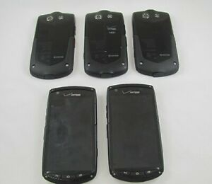5 Kyocera E6782 Brigadier Verizon Cellphone Lot  GOOD