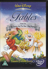 The Tortoise and the Hare King Neptune Pied Piper Fables vol 4 Disney R2  R4 DVD