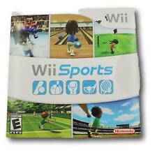 NINTENDO WII- SPORTS VIDEO GAME- COMPLETE with manual