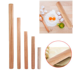 Cake Decoration Wooden Rolling Pin Pastry Tool Baking Supplies Dough Roller