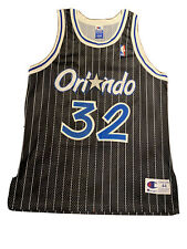 vintage NBA Jersey Champion 44 Authentic Shaquille O'Neal Jersey Orlando Magic
