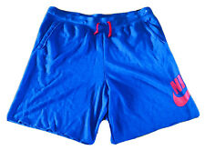 NEW Nike Sportswear Alumni Blue Fleece Vintage Shorts AR2375-438 Size 3XL-Tall