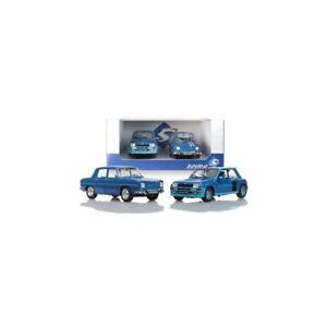 Solido SOLIPACK-180005 Pack R5 Turbo Bleu et R8 Gordini 1100 1/18