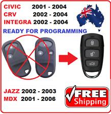 Honda Remote Control Fob Civic CRV Intergra Jazz MDX 2001 2002 2003 2004 2005