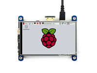 """800x480 4"""" DIsplay Resistive Touch Screen HDMI LCD I/Os for Raspberry Pi"""