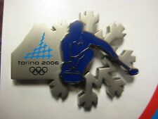 Torino 2006 Olympic Pin - Curling Double