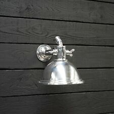 Nautical Aluminium Smooth Cargo Pendant/Wall/Ceiling Light –With Stand Small