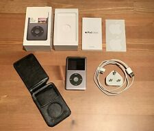 Apple iPod Classic 160GB Black 7th Generation Black/Grey | Bundle, Box 7 2009