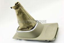 Shift Boot Leather for Nissan Versa Tilda 2007-2012 Beige Manual Transmission