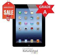 Apple iPad 3rd Gen 32GB, Wi-Fi + 4G AT&T (UNLOCKED), 9.7in- Black - GRADE A (R)