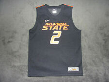New Nike Elite Team Apparel Oklahoma State Cowboys #2 Basketball Workout Jersey
