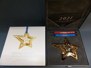 Georg Jensen Christmas Collectibles Weihnachtsmobile 2021 GOLD Art. 10019939 OVP