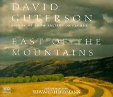 East of the Mountains by David Guterson (1999, CD, Abridged) 5 CDs