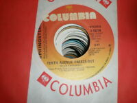 Bruce Springsteen 45 Tenth Avenue Freeze Out COLUMBIA CANADA