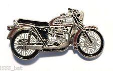 Triumph Classic Bonneville Rocker Britannico Moto Motocicletta Metallo Stemma