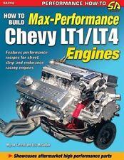 Build Max Performance Chevy Corvette Lt1/Lt4 Engine Cam Pushrod Valve Crank Head