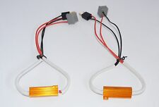 2 x H7 LED Fog Xenon HID No Error Load Resistor Wiring Harness Adapter