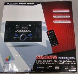 NEW Power Acoustik PCD-52B CD/MP3/AM/FM Digital Media Car Receiver, Bluetooth