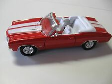 WELLY 1:24 SCALE 1971 CHEVY CHEVELLE SS 454 CONV. DIECAST CAR MODEL W/O BOX NEW!