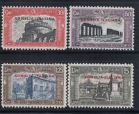 Somalia 1929 Sass. 119-122 Nuovo ** 100% 30 c, 50 cent, 1.25 L, 5 Lire