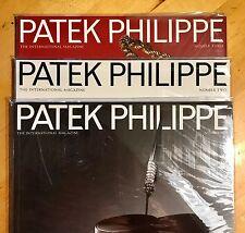 PATEK PHILIPPE Revista Set Primera Edición Números 1, 2 & 3 MUY RARO Calatrava