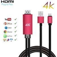 USB C Type-C to HDMI 4K Cable Cord HDTV TV Digital AV Adapter for Samsung EN