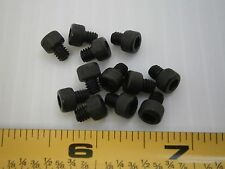 8-32 3/16 socket soc cap steel black alloy machine screw allen lot of 50 #1533