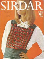 Vintage Crochet Patrón Tank de Superdry para mujer