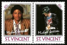 MICHAEL JACKSON KING OF POP MINT STAMPS MUSIC LEGEND OF THE WORLD