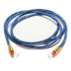 2M Premium Toslink Digital Optical Fiber Audio Cable TV Cord 6.5LJ OD 5.0 LJ