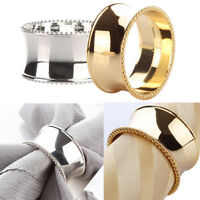 Elegant Napkin Round Ring Serviette Holder Wedding Banquet-Dinner Decor Favor