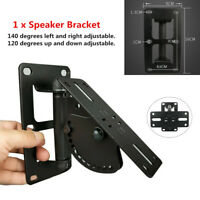 30Kg Heavy Duty Speaker Wall Ceiling Mount Bracket Base Surround Stereo Sound