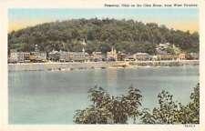 Pomeroy Ohio River Scenic View Antique Postcard J51030