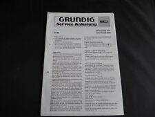 Original Service Manual Grundig yacht Boy 310 460