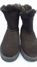 Women's Style & Co Winter Boots Tiny Faux Fur Ankle High Black Size 6 M