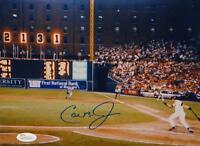 Cal Ripken Jr Autographed Baltimore Orioles 8x10 Scoreboard Photo- JSA W Auth