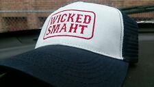 WICKED SMAHT trucker hats best selling hat Boston New England New Boston