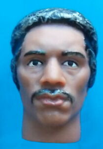 "2018 JIMI HENDRIX 8"" mego music figure -- WOODSTOCK -- HEAD with Afro eds"