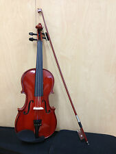 Brand NewCaraya 1/4 Size Violin+Bow,Rosin,Chin-rest,Spare Strings,Foam hard case