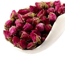 MQUPIN Rose Bud Tea Dried Red Rose Petal Flower Edible Buds Detox Tea