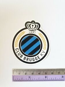 BRUGGE KV Premier League Soccer Teams Logo Sticker Football Club Sticker
