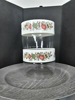 2 Pyrex See & Store Canister Spice of Life Container Storage w/ original gasket