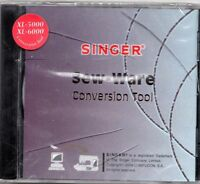Singer Sew Ware Conversion Tool Software XL-5000 XL-6000 NIP Free US Shipping