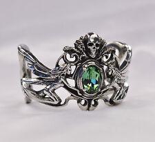 La Fleur de Baudelaire Bracelet - Alchemy Gothic Absinthe/La Fée Vert/Wormwood