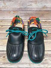 Vtg 1980's Duck Soup Low Ankle Rain Boots Womens Rubber Gum Shoes Canada Sz 8