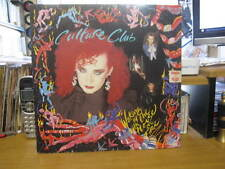 "CULTURE CLUB WAKING UP WITH THE HOUSE ON FIRE VINYL LP RECORD 12"" w/INNER"